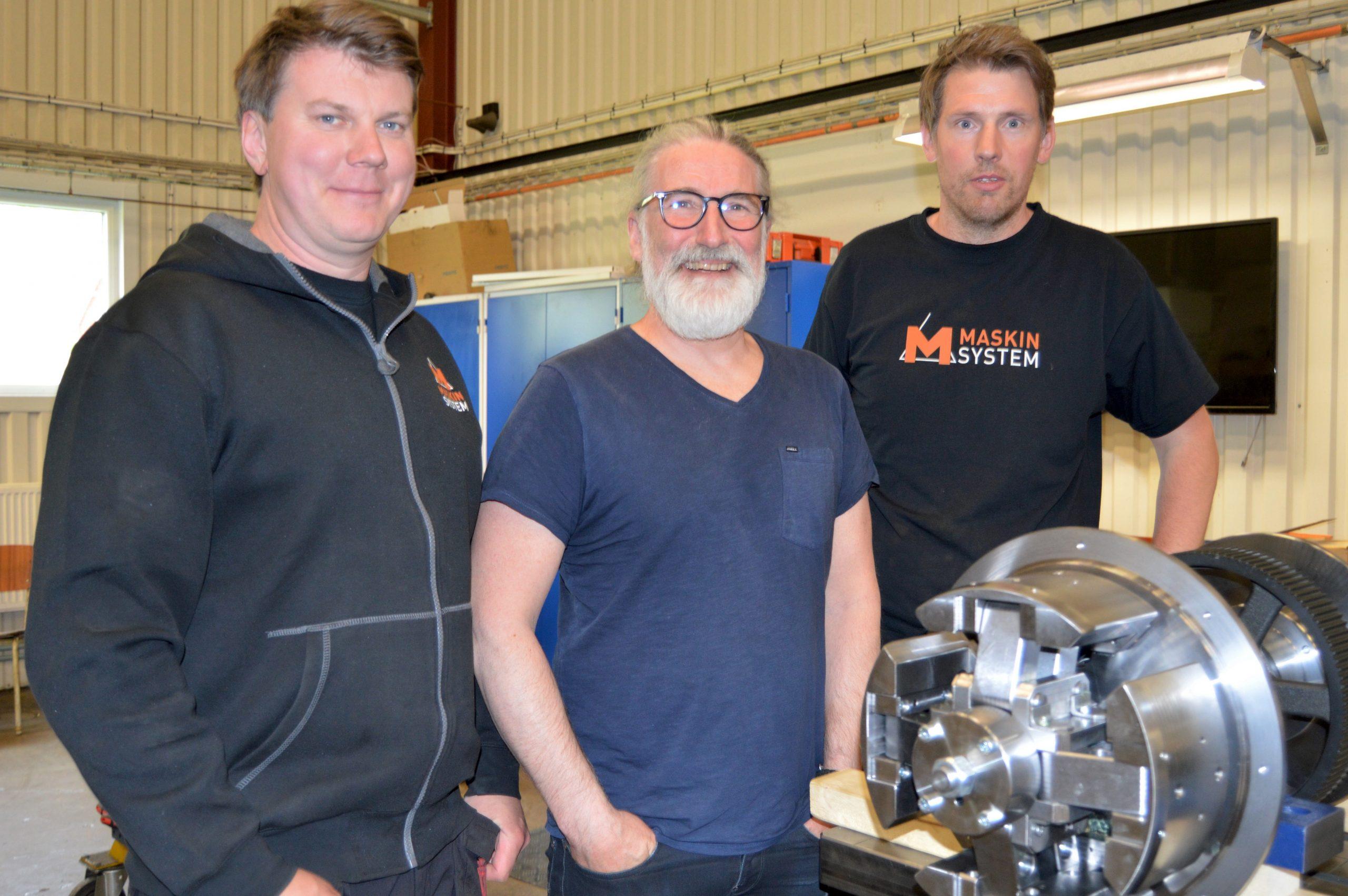 Företaget Maskinsystem lät personalen ta över när pensionen närmade sig för ägaren Krister Källström.