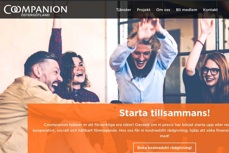 Vi har en ny hemsida